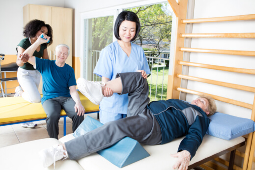 Physical Therapy Safely Strengthening Our Seniors at Home